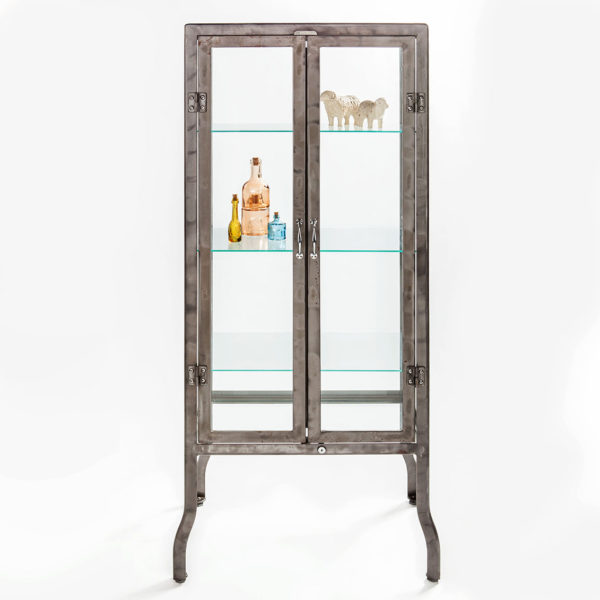 Dulton Large Doctor Display Cabinet Raw - Higher Ground Homes and ...