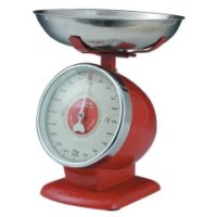 Retro Kitchen scale streamline